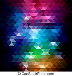 abstrakcyjny, mozaika, tło