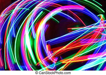 abstrakcyjny, of-focus, tło