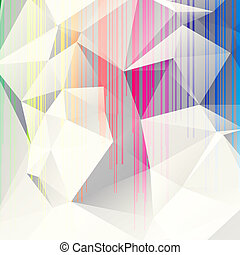 abstrakcyjny, tło, triangle, wielobarwny