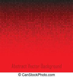 abstrakcyjny, technologia, czerwone tło