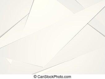abstrakcyjny, technologia, zbiorowy, polygonal, szary, tło