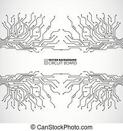 abstrakcyjny, technologie, tło, cyfrowy