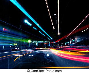 abstrakcyjny, ulica