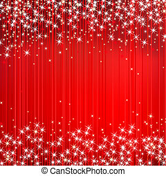 abstrakcyjny, wektor, czerwone tło