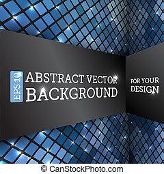 abstrakcyjny, wektor, perspektywa, tło, ukośnik
