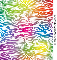 abstrakcyjny, wektor, zebra, struktura, skóra