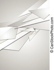 abstrakcyjny, zbiorowy, szary, tło, geometryczny