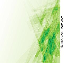 abstrakcyjny, zieleń handlowa, tło, karta