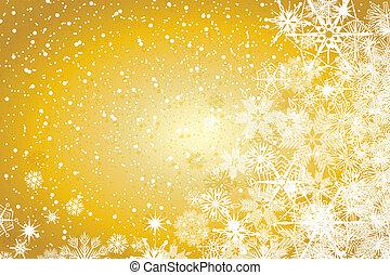 abstrakcyjny, zima, tło, boże narodzenie