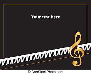 afisz, ułożyć, muzyka, rozrywka