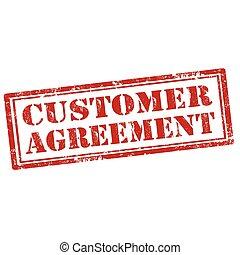 agreement-stamp, klient