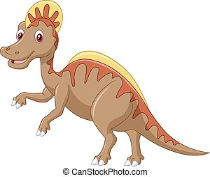 agresywny, dinozaur, cretaceous