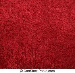 aksamit, czerwone tło