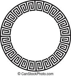 albo, okólnik, aztek, goemetric, starożytny