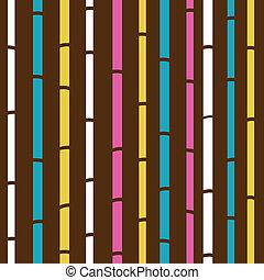 albo, próbka, barwny, struktura, retro, seamless, bambus