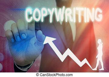 albo, ręka, symbol, tworzywo, chodzenie, reklama, znaczący, tekst, strzała, copywriting., achievement., konceptualny, ogłoszenia, handlowy, fotografia, pisanie, pokaz, zwyżkowy