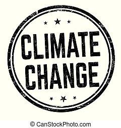 albo, znak, zmiana, tłoczyć, klimat