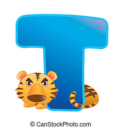 alfabet, t, zwierzę