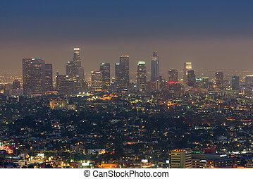 anieli, kalifornia, los, usa, miasto