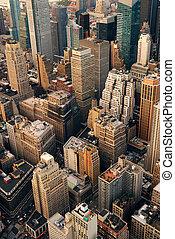 antena, miasto, miejski, prospekt