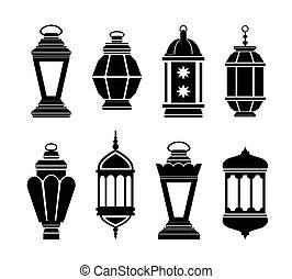 arabszczyzna, latarnie, ramadan