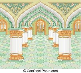 arabszczyzna, pałac