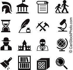 archeologia, historia, ikony, &