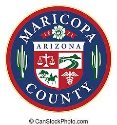 arizona, maricopa hrabstwo, stan, znak, (phoenix)