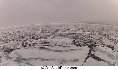 arktyka, podróż, lód