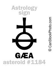 asteroida, astrology:, gaea