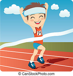 atleta, człowiek