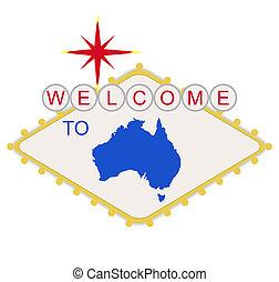 australia, pożądany znaczą
