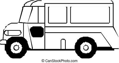 autobus, awangarda