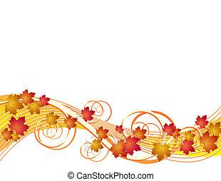 autumn odchodzi, przelotny, tło