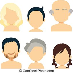 avatar, rodzina, ludzie