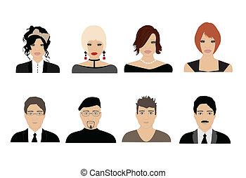 avatars, ludzie