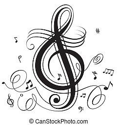 bębnić, muzyka