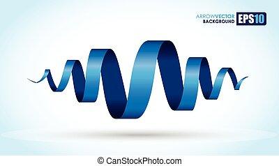 błękitna spirala, tło