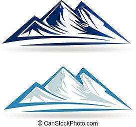 błękitne góry, logo
