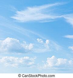 błękitne niebo