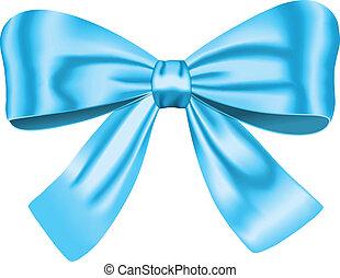 błękitny, łuk, dar
