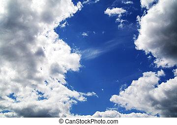 błękitny, 1, niebo