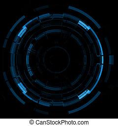 błękitny, abstrakcyjny, tło