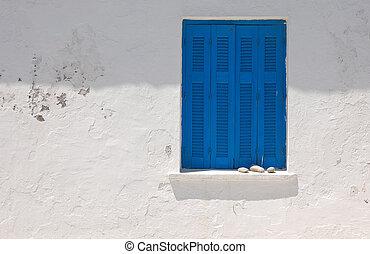 błękitny, balkony