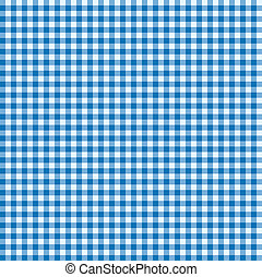 błękitny, biały, tablecloth