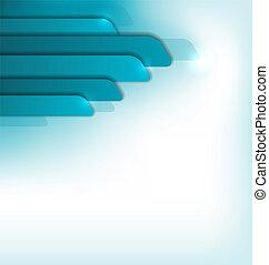 błękitny, broszura, nowoczesny