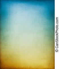 błękitny, brunatne tło