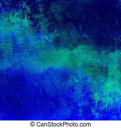 błękitny, ciemny, abstrakcyjny, zakłopotany, tło