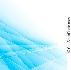 błękitny, handlowy, lekki, abstrakcyjny, tło, broszura