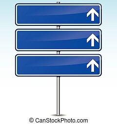 błękitny, kierunek znaczą